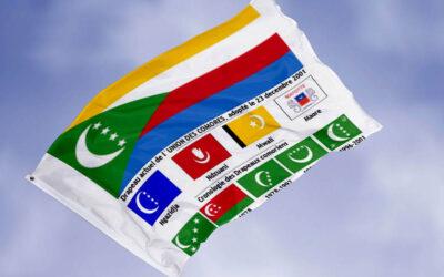Evolution du drapeau des Comores