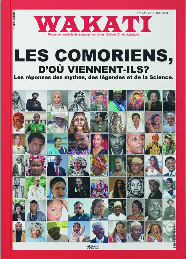 histoire des îles Comores, première page de couverture